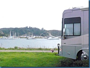 RV at Winchester Bay