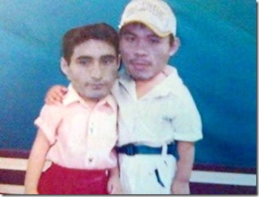 funny pic of pacquiao and morales childhood friendship