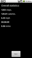 Screenshot of MyRunningTracker
