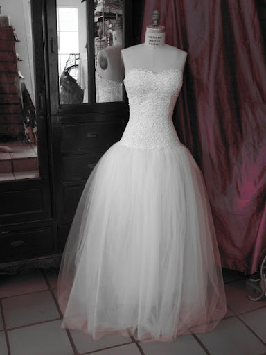 Tulle Wedding Bridal Gown