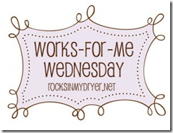 works for me wednesday