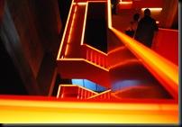 Zollverein - glødende trapp