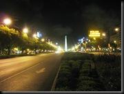Buenos 9 juli avenyen om natten