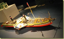 Zollverien - Steamship model