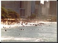 Fortaleza -standliv i byen