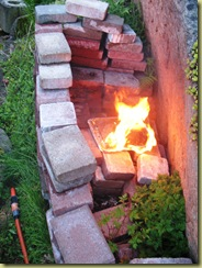 Unplanned grilling