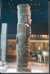 Nasjonalmuseet for atropologi -statue - MX