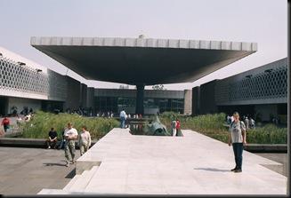Nasjonalmuseet for atropologi -inngang - MX