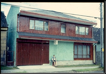 Puerto Montt - huset vi bodde i