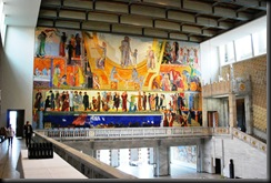 12 - OsloBG - the grand opening  - Oslo City Hall - Wall paintings