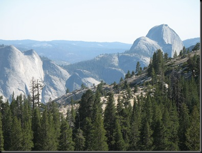 Yosemite Half Dome right