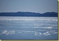 Huk - islagt fjord