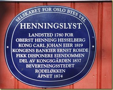 B Rodeløkken - Henningslyst