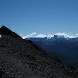 Near the top of Cerro Faulkner