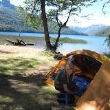 Lago Falkner and Lago Villarino