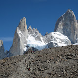 Climbing up to Fitz-Roy