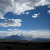 Appraching Torres del Paine