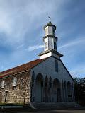 Wooden church in Dalcahue