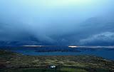 Rain over Titicaca