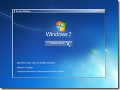 2 - Comienzo de la instalacion windows 7