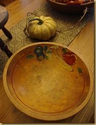 bowl before