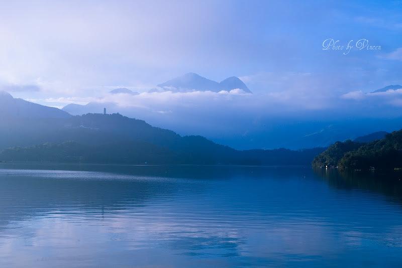 日月潭...  雲*山*水
