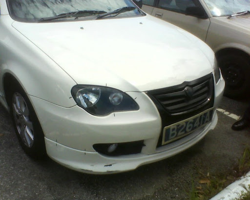 2010 Proton Persona facelift spotted at Tanjung Malim