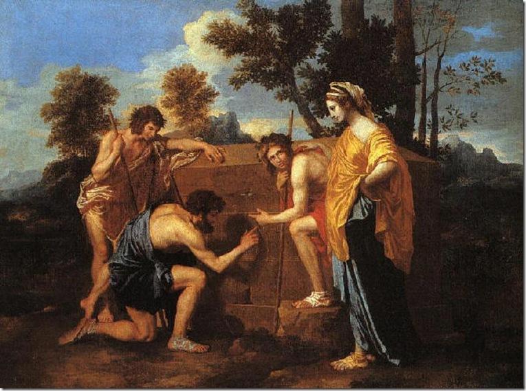 POUSSIN ET IN ARCADIA EGO 1637-9