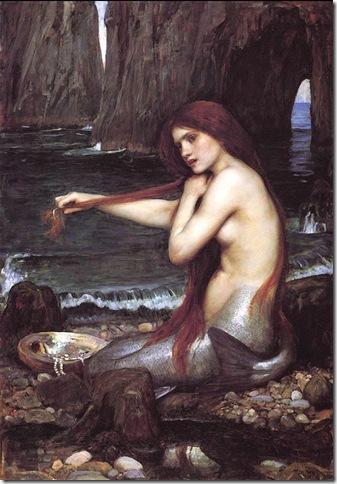 waterhouse - mermaid
