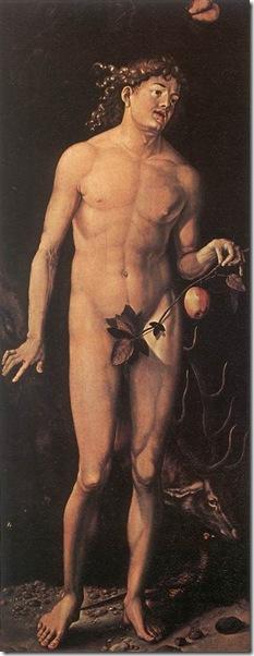 53-Baldurg Grien - Adam i Ewa (Uffizi)