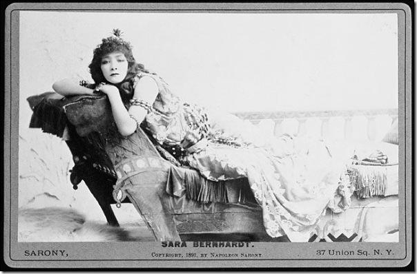 napoleon nabony - sarah bernhardt 1891