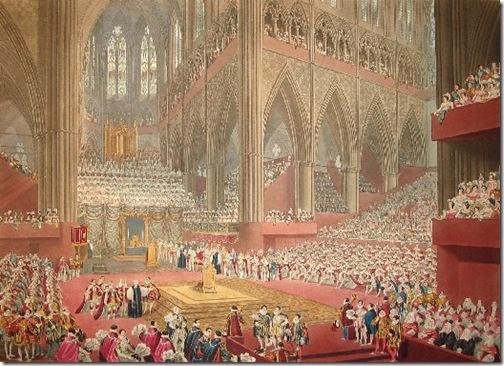 dubourg - koronacja jerzego iv 1822