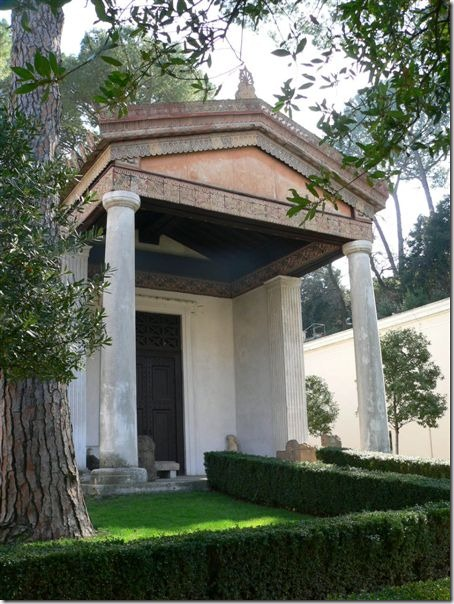 świątynia etruska przy villa giulia
