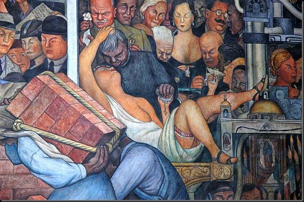 diego rivera - mural z pałacu narodowego