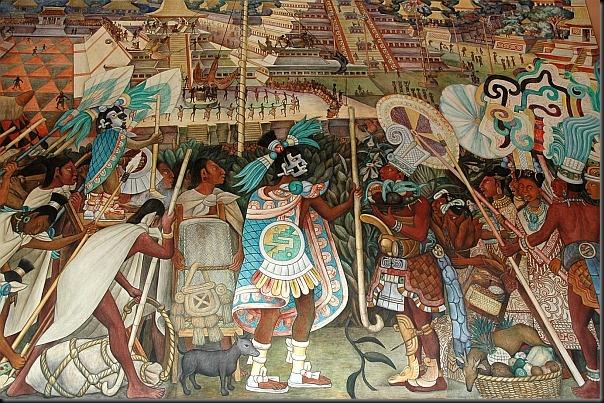 diego rivera - mural z pałacu narodowego 2