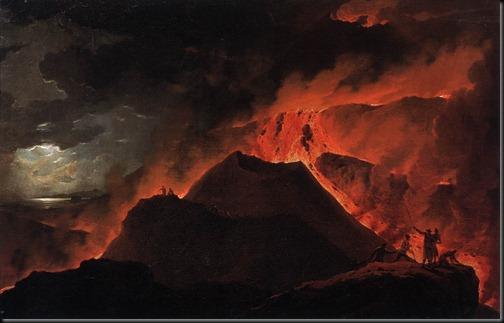 wutky - erupcja wulkanu