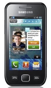 Wave 525 Samsung Touchscreen Phone Bada