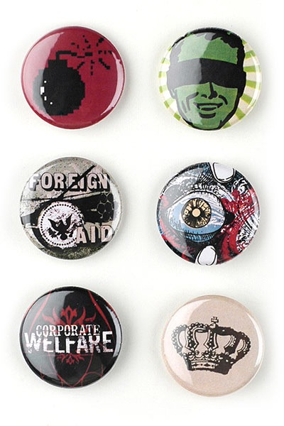 40  Creative, Courageous, and Campy Buttons