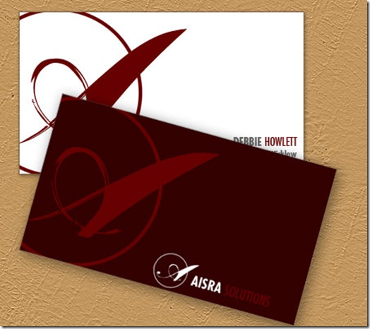 aisra business cards