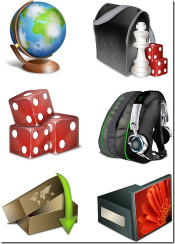 glob icons