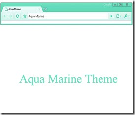 google-chrome-aqua-marine-theme