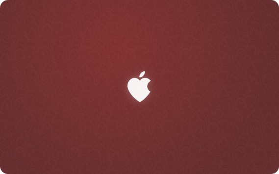 Apple Love - Wallpaper
