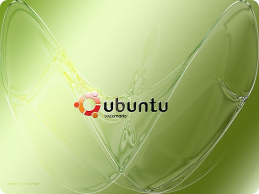 wallpaper ubuntu. Ubuntu Green Wallpaper