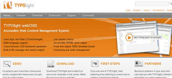 10 new PHP based Content Management Systems (CMS)