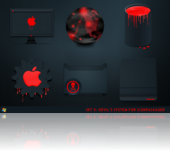 Devils_System_For_IconPackager_by_ipholio