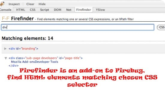 Firefinder-for-Firebug