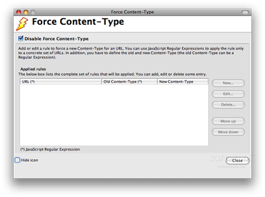 Force Content-Type