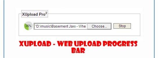 XUpload---web-upload-progre
