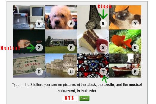 VidoopCAPTCHA