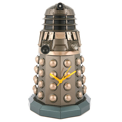Doctor Who Dalek Illuminating Wall Clock cheap Christmas gifts affordable holiday gift inexpensive